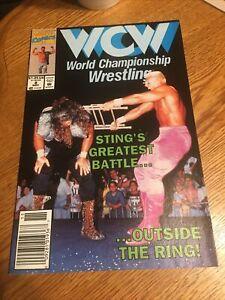 MARVEL COMICS: WCW WRESTLING #8 . STINGS GREATEST BATTLES. PM2