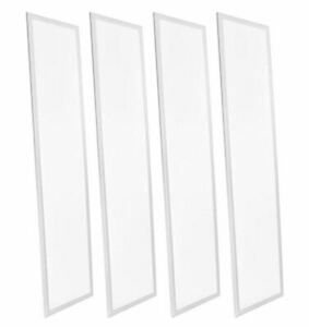 YMGI LED Panel Light 5000K Cool White 1'X4' 40W  Dimmable 4 Pack Bundle