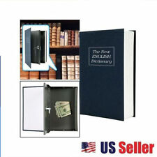 Home Dictionary Book Secret Safe Book Security Key Lock Money Cash Jewellery Box