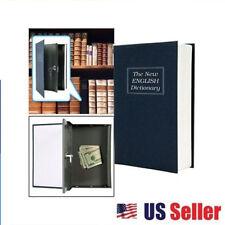Home Dictionary Book Secret Safe Book Security Key Lock Money Cash Jewellery Box