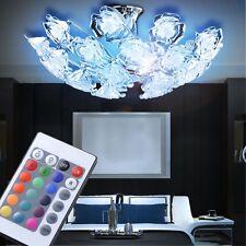 LED RVB Plafonniers ROSES FLEURS Télécommande Variateur LA VIE Lampe de chambre