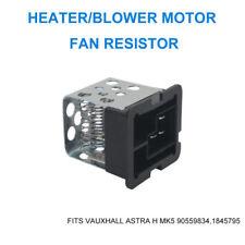 Vauxhall Astra H MK5 Heater/Blower Motor Fan Resistor 90559834,1845795