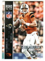 2015 Panini Prestige Road to the NFL #10 SEAN MANNION RC St Louis Rams