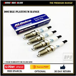 Spark Plug 4 Pack for Daihatsu YRV M201 1.3L 4 CYL K3VE 7/01-1/05 41801
