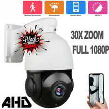 30X ZOOM AHD 1080P PTZ Speed Dome Camera IR Camera Night Outdoor CMOS AUTO USA