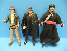 Indiana Jones Raiders Of The Lost Arc 3 Figure LOT Toht Cairo Swordsman Indy