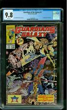 Guardians of the Galaxy 1 CGC 9.8 NM/MINT Starhawk Jim Valentino cover Marvel