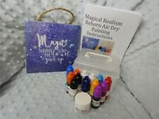 "3ml "" Trial SIze"" Newborn Painting Starter Kit Air Dry Magical Realism Reborn..."