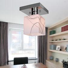 Modern Mini Style Flush Mount Ceiling Light Fixtures Cube Shape Chandeliers