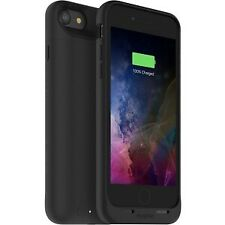 NEW! Mophie Juice Pack Air Case for Iphone 7 Black Rubberized Impact Resistant D