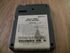 Billy Joel Glass Houses 8 Track Tape (Looks to be Missing Front Photo)