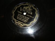 Memphis Jug Band  Victor 20781  SUNSHINE BLUES/LOOKING FOR THE BULLY OF THE TOWN