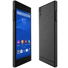 Skinomi Brushed Steel Skin+Clear Screen Protector for Sony Xperia XZs