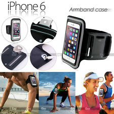 BLACK Running GYM Armband Case For Apple iPhone 4S 5 5S 6 6S 7 8 Plus & iPhone X