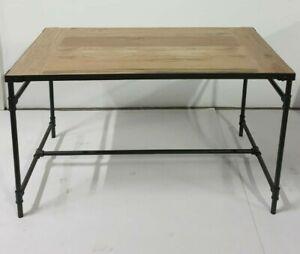 Neu Tisch Esstisch Gartentisch Steinplatte in Holzoptik Stahl