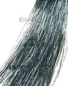 "28"" Silk Hair Tinsel Salon for Feather Hair Extension Hair Accessory 19 Colors"
