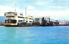 Penang Butterworth New Ferry Boat in Penang Harbor Postcard