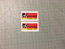 COPPIA ADESIVI MARZOCCHI x STELI FORCELLE MOTO -adesivi/adhesives/stickers/decal