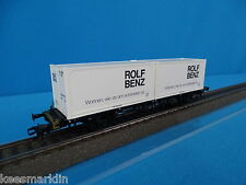 Marklin 4850 DB Container Car ROLF BENZ