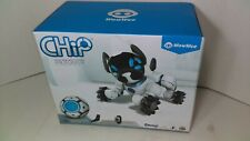 WowWee CHiP Robot Toy Dog - White - MISSING MAIN BATTERY!