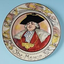 """English Royal Doulton The Professional Series Collector Plate """"The Mayor"""" D6283"""