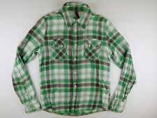 KL109 NUDIE JEANS beautiful check shirt size S, excellent condition!