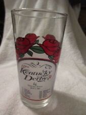 KENTUCKY DERBY  MINT JULEP GLASS 127 RUNNING MAY 5 2001 LIBBY GLASS