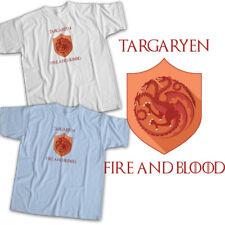 Game of Thrones House Targaryen Dragons Sigil Symbol Daenerys Unisex Tee T-Shirt