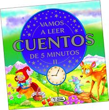 """LIBRO """"VAMOS A LEER CUENTOS DE CINCO MINUTOS II"""", EN ESPAÑOL"""