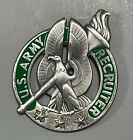 """US Army Recruiter Badge w/ 3 Silver Stars 1.75"""""""