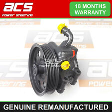 FORD FOCUS POWER STEERING PUMP 1.8 PETROL 1998 TO 2005 - RECONDITIONED