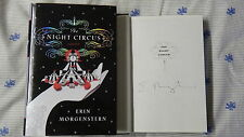New Signed Erin Morgenstern The Night Circus 1/1 HC DJ Book Autographed Rare 1ST