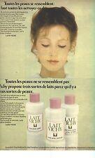 PUBLICITE 1973   VICHY  Lait démaquillant cosmétiques