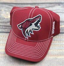 Arizona Coyotes NHL Reebok Flex Brim Adjustable Strapback Hat Cap Team Color Red