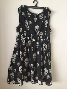 Sourpuss Skull Dress