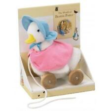 Beatrix Potter Pull Along Soft Jemima Puddle Duck - Baby Toddler Toy