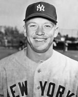 1954 New York Yankees MICKEY MANTLE Glossy 8x10 Photo Print Young Poster