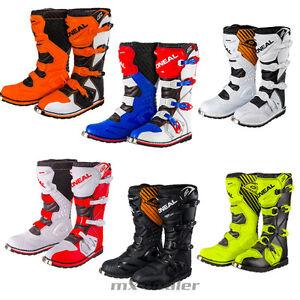 ONeal Rider Motocross Stiefel schwarz weiss Enduro boot Quad mx  42 43 44 45 46