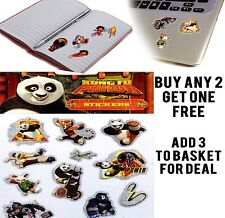 OFFICIAL KUNG FU PANDA ACTIVITY STICKER STICKERS CRAFTS KIDS ROOM BOOK LAPTOP