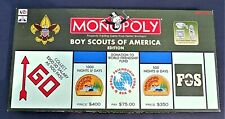 Monopoly Boy Scouts Of America 95th Anniversary Edition BSA Hasbro 100% COMPLETE