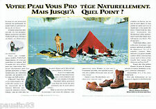 PUBLICITE ADVERTISING 125  1993  TIMBERLAND vetements chaussures GORE-TEX (2p)