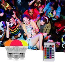 RGB LED Lamps E27 3W LED Bulb Soptlight Energy Saving Lampara With IR Remote v
