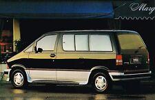 1993 Ford AEROSTAR MiniVan Brochure / Catalog : XL,+ plus,XLT,Eddie Bauer, 4WD,