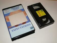 VHS Video ~ Expectations ~ Large Case Ex-Rental Pre-Certificate