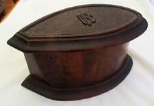 WW1 Box With ROYAL FLYING CORPS Initials Made From Propeller of a WW1 Aircraft