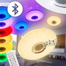 LED Deckenleuchte Farbwechsler Bluetooth MP3 Wohn Schlaf Kinder Zimmer Lampe