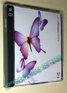 Adobe Indesign CS2 Windows deutsch - Orginal-DVD + Seriennummer - incl. MwSt.