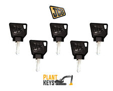 JCB & Bomag (Set of 5) Excavator Keys