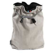 Microfiber SLR Camera Lens Soft Case Cleaner Cleaning Pouch Digital Gray /M