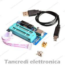 Programmatore PIC USB K150 ICSP completo di cavo USB pic microchip programmer
